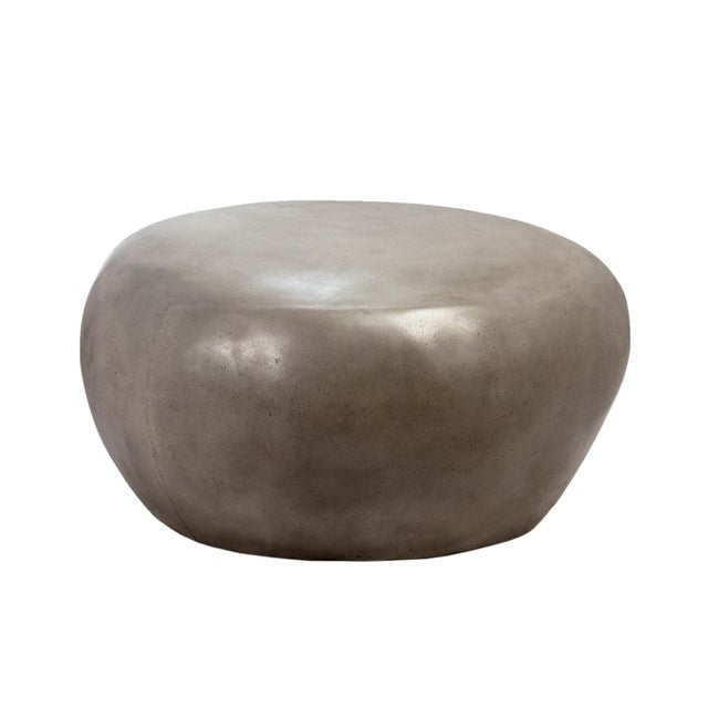 Contemporary Organic Pebble Table For Sale - Image 3 of 3