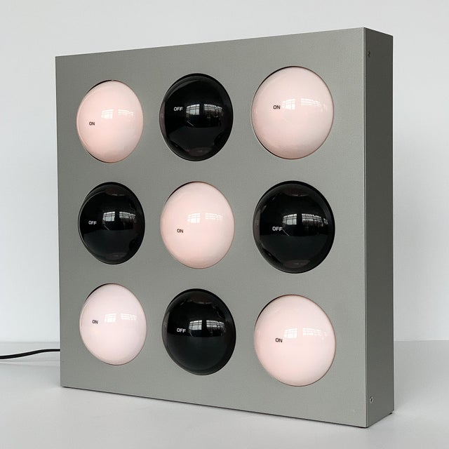 Mid-Century Modern Paul Talman on / Off Interactive Table Lamp or Wall Sconce For Sale - Image 3 of 13