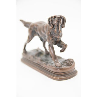 Antique French Bronze Sporting Dog Sculpture Preview