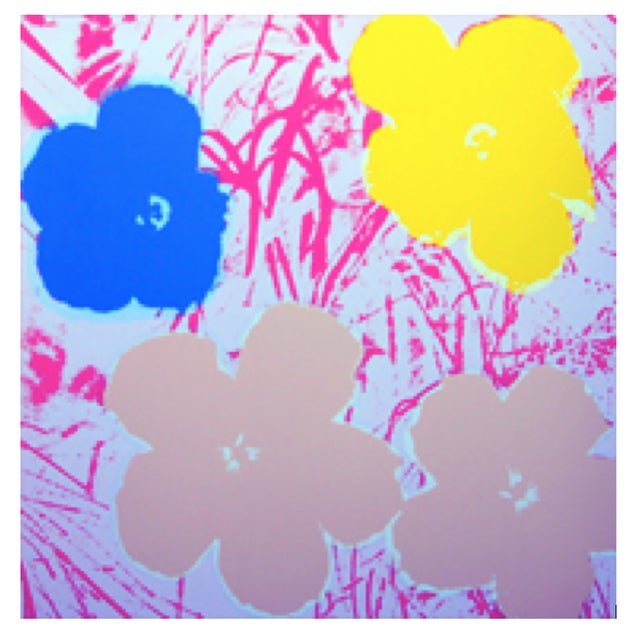 Andy Warhol Sunday B. Morning Flowers Prints - S/4 - Image 4 of 5