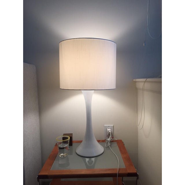 Modern CB2 Ada II White Table Lamp For Sale - Image 3 of 3