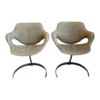 Pair of Vintage Chairs by Boris Tabocoff Chairs For Sale