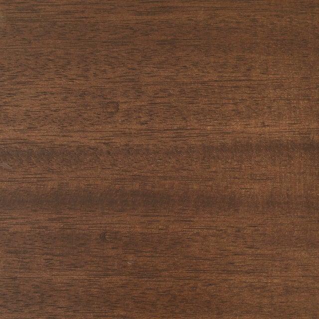 Mahogany Frank Lloyd Wright Partners Desk For Sale - Image 7 of 7