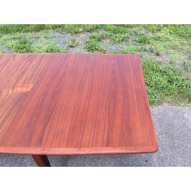 Refurbished Falster Teak Dining Table - Image 8 of 11
