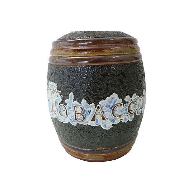 Antique Doulton Lambeth Tobacco Jar - Image 3 of 4