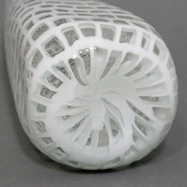 Glass Tobia Scarpa Vase 'occhi' For Venini Ca. 1970 For Sale - Image 7 of 9