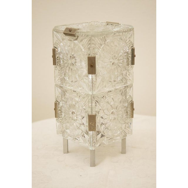 Mid Century Pressed Table Lamp For Sale - Image 9 of 9