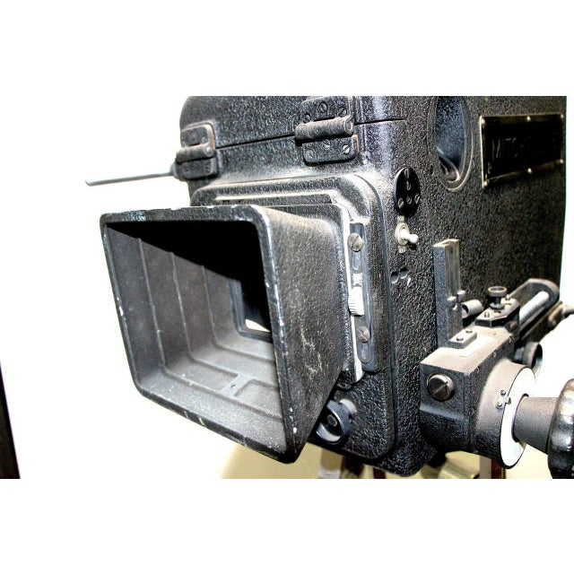 Original Mitchell Camera 16mm Camera Studio Blimp Housing. Circa 1940. Display As Sculpture. For Sale - Image 4 of 6