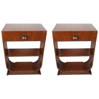 Mid-Century Modern Teak Side Tables - a Pair For Sale