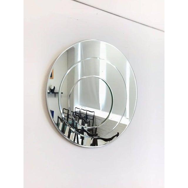 Italian Cristal Art by Rimadesio Italian Mirror For Sale - Image 3 of 12
