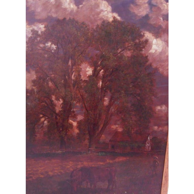 """Breezy Day"" Painting by D. Jerome Elwell, circa 1888 For Sale In Boston - Image 6 of 10"