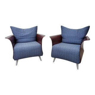 Mid Century Modern Keilhauer Belle Bentwood Lounge Chairs by Tom McHugh - Pair For Sale