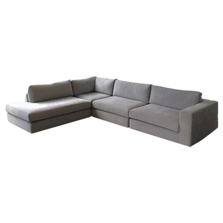 Dellarobbia Chase Sectional in Chalkboard - Image 1 of 3