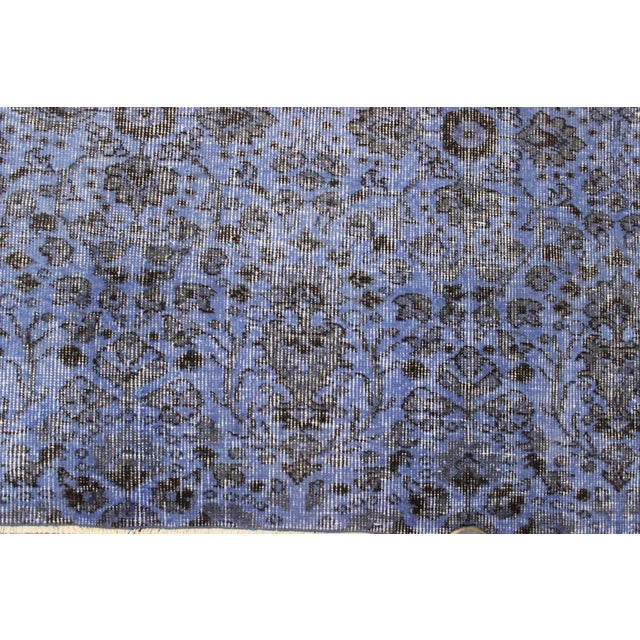 Lavender Over-Dyed Oushak Rug - 7′2″ × 10′3″ - Image 4 of 7