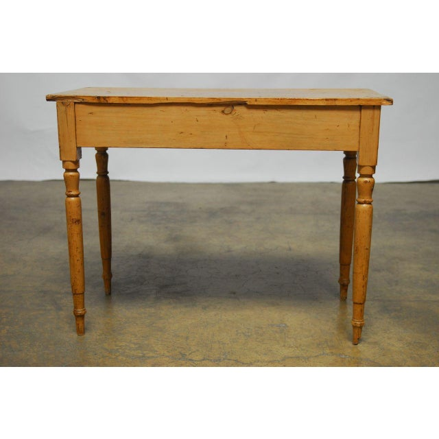 19th Century French Pine Console Table For Sale In San Francisco - Image 6 of 9