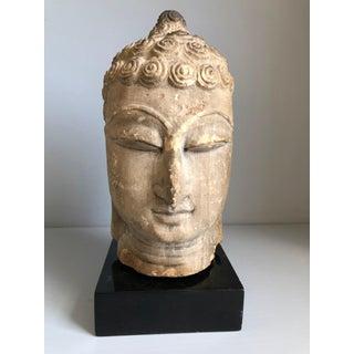 Thai Buddha Head, Ayutthaya Period Preview