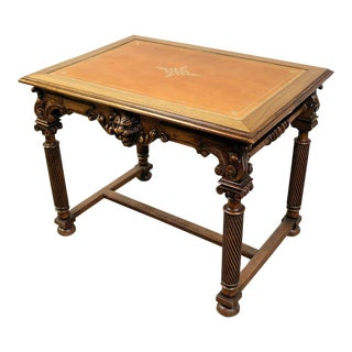 19th Century Baroque Writing Table For Sale