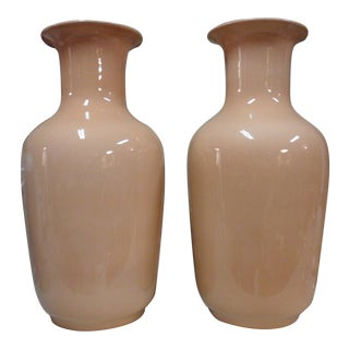 Mid 19th Century Antique Vases - A Pair For Sale