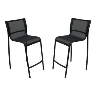 Modern Italian Stefano Giovannoni for Magis Paso Doble Stool Outdoor - a Pair For Sale