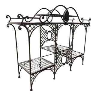 Traditional Metal Bakers Rack For Sale