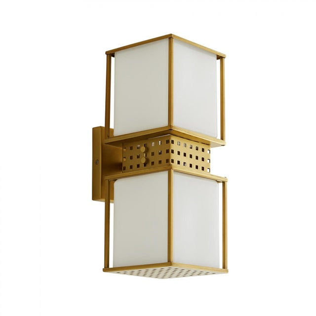 Modern Celerie Kemble for Arteriors Bisger Sconce For Sale - Image 3 of 8