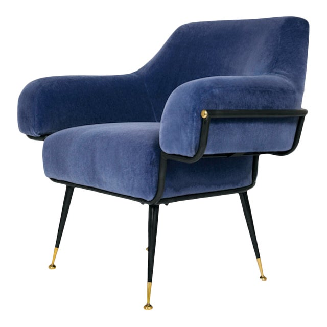 The Roberto Club Chair by Studio Van Den Akker For Sale