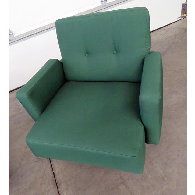 Pair of Italian Modern Club Chairs - Image 2 of 5