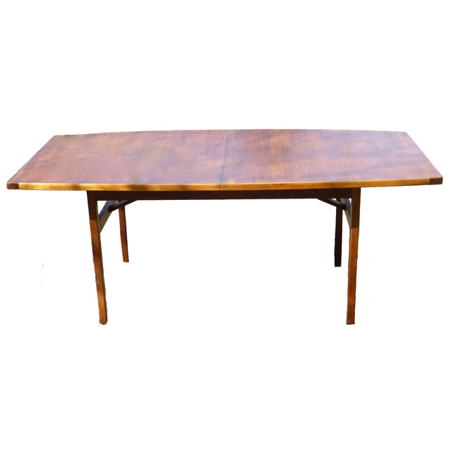 Jens Risom Dining Table With Two Leaves - Image 1 of 7