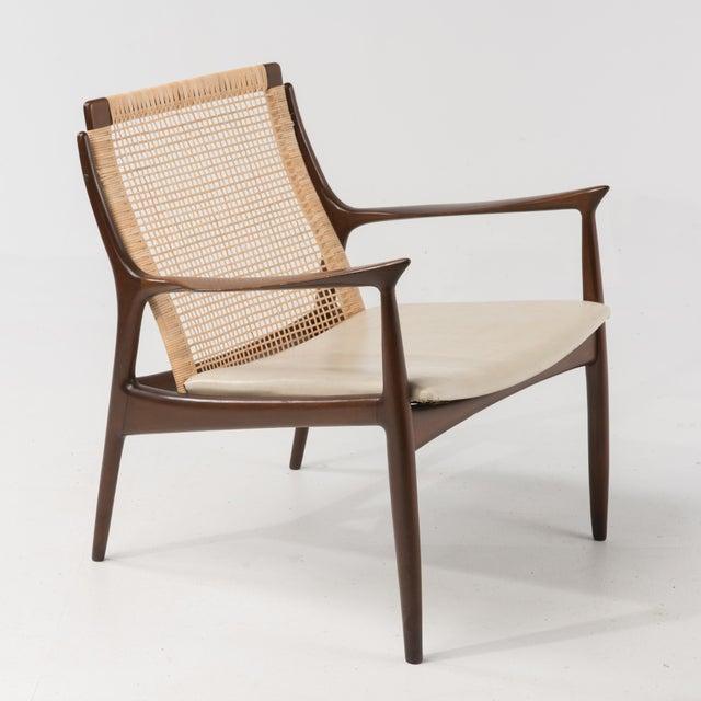Mid Century Modern Ib Kofod Larsen Selig Armchair For Sale In Philadelphia - Image 6 of 13