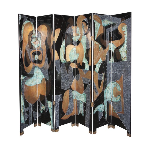 Mid-Century Screen For Sale