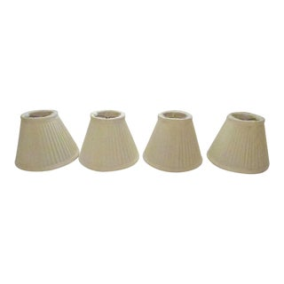Silk Lamp Shades - Set of 4 For Sale