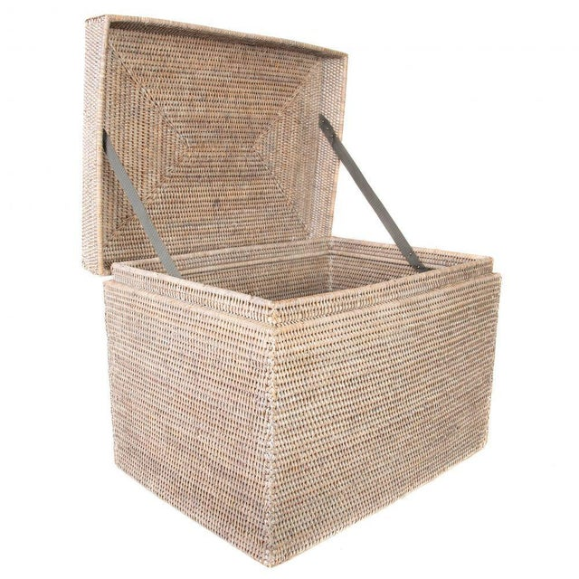 Artifacts Rattan hand woven chests provide the perfect accent to any room in the house with a tight weave, durable...