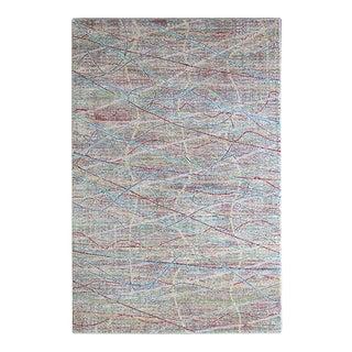 Rainbow Lines Rug 5'3''x 7'7''