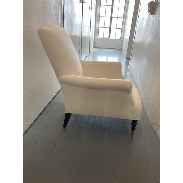 Contemporary Williams Sonoma Home Upholstered Occasional Chairs - a Pair For Sale In San Francisco - Image 6 of 11