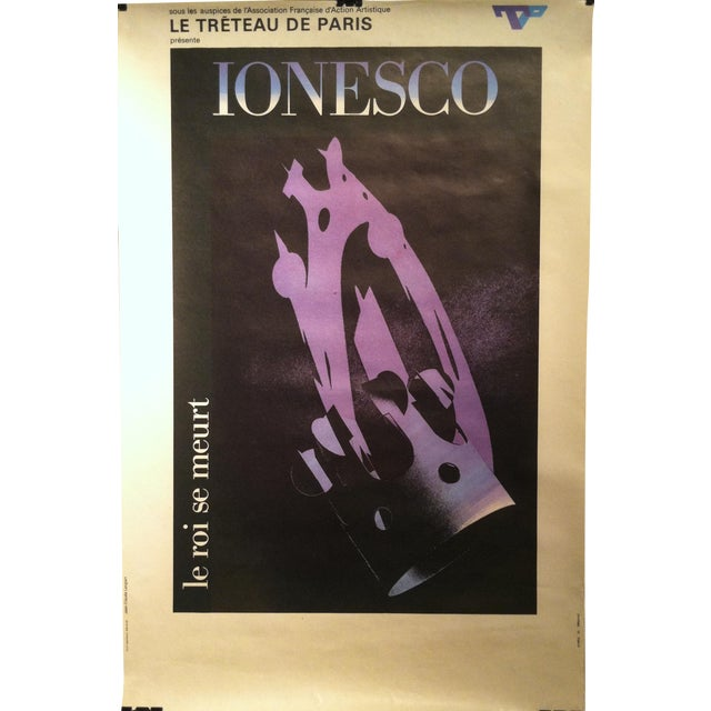 "Jean-Claude Lenglart ""Ionesco"" French Lithograph - Image 1 of 8"