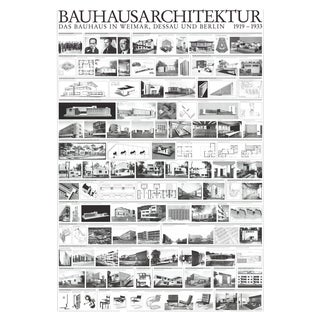 Bauhaus Architektur, Offset Lithograph For Sale