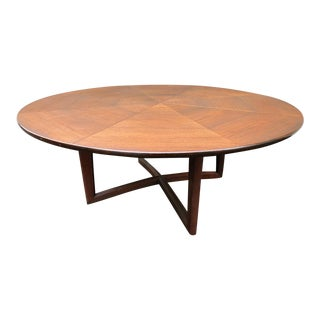 1960s Mid Century Henredon Dining Table For Sale