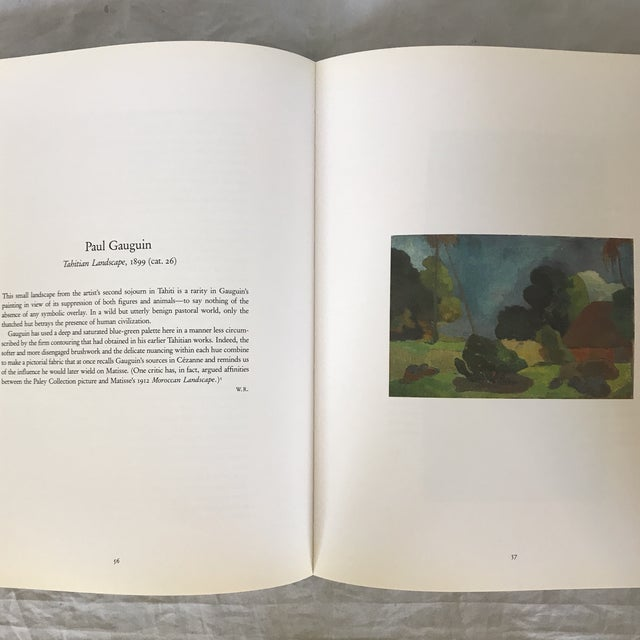 """1993 """"The William S. Paley Collection"""" First Edition Museum Art Book For Sale - Image 4 of 9"""