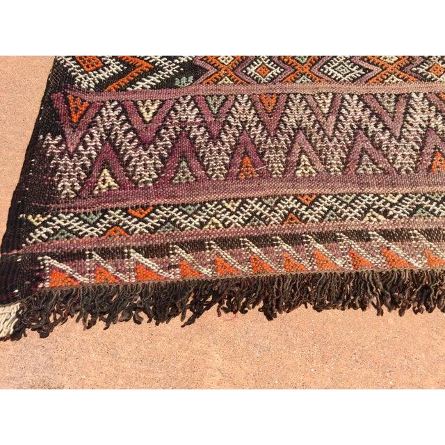 Vintage Moroccan Nomadic African Tribal Rug For Sale In Los Angeles - Image 6 of 9