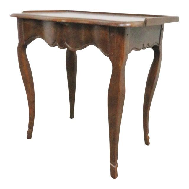 Louis XV Baker Walnut Nightstand For Sale