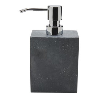 Bowery Soap Dispenser in Graphite For Sale