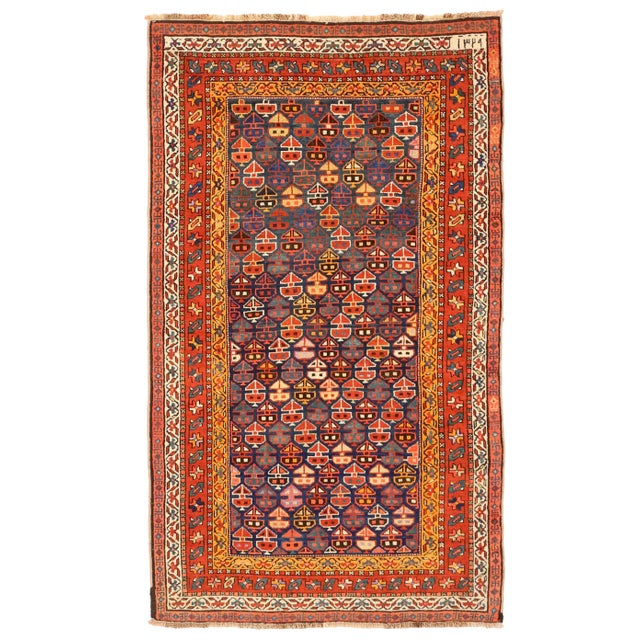 1930s 1930s Russian Area Rug Karebagh Design For Sale - Image 5 of 5