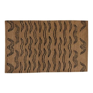 Tiger Tan Black, 3 x 5 Rug For Sale