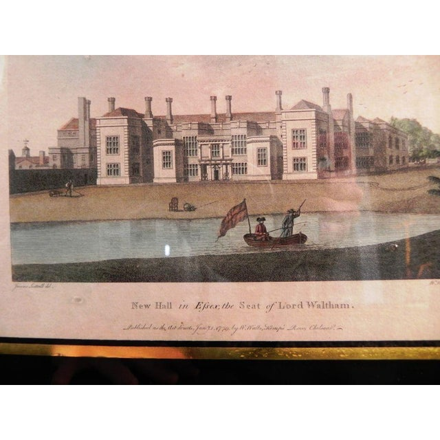 Antique English Architectural Engravings - Set of 4 - Image 3 of 8