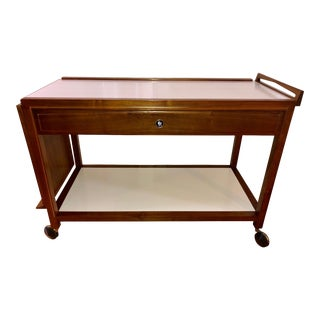 Mid-Century Modern Glenn of California for John Stuart Bar Cart For Sale