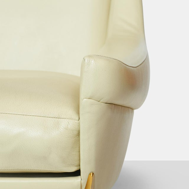 Sofa in Leather by Charles Ramos For Sale In San Francisco - Image 6 of 8