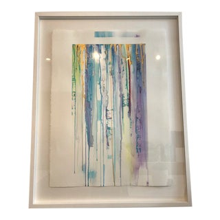 Drip Watercolor Painting For Sale
