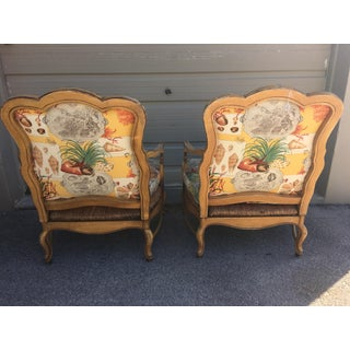 1930s Vintage French Country Armchairs- A Pair Preview