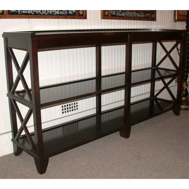 Regency Style Console With Shelving - Image 6 of 8