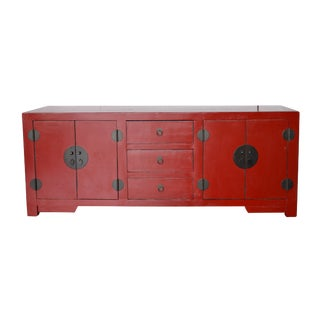 Red Lacquer Chinese Buffet